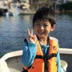 横浜、初ボートでハゼ釣り!