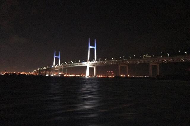 横浜、初の横浜沖堤でのアジング