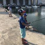 横浜、たまにはイージーなアジングを!(+子供釣り人化計画)