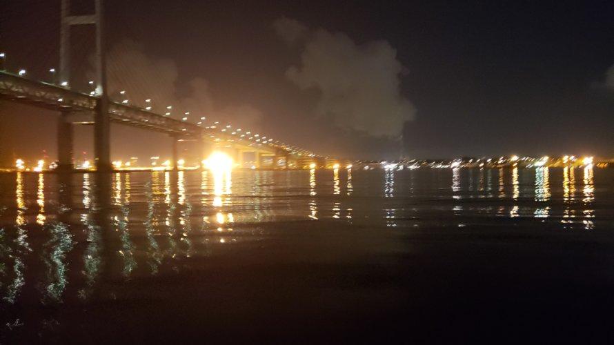 横浜、メバルボートで穴撃ちメバリング