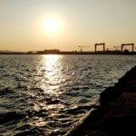 野島防波堤、フリーリグでカサゴを探る後アジング